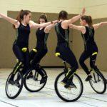 Kunstradsport-Saison mit Bezirkstiteln eröffnet