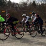 Nachwuchs zurück auf dem Rennrad