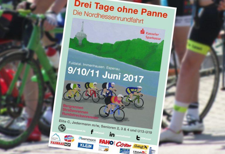 Plakat der Nordhessenrundfahrt