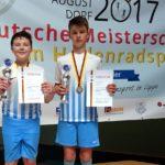 Grolle/Klein Deutscher Vizemeister der U15