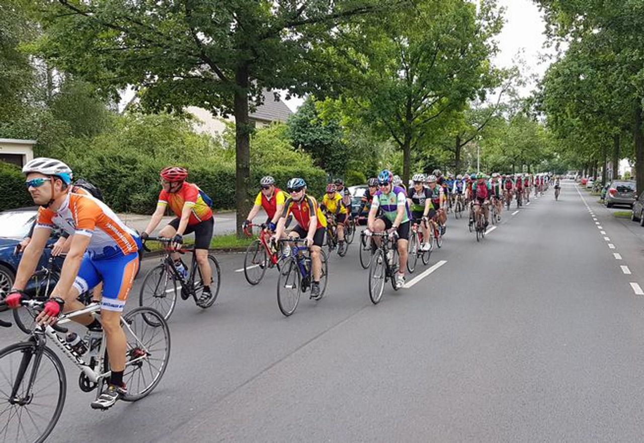 Bundes-Radsport-Treffen in Hannover. Foto: Bernd Schmidt