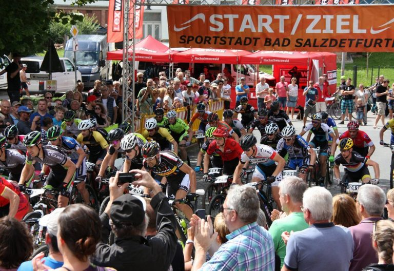 Start in Bad Salzdetfurth. Foto: Uwe Platt