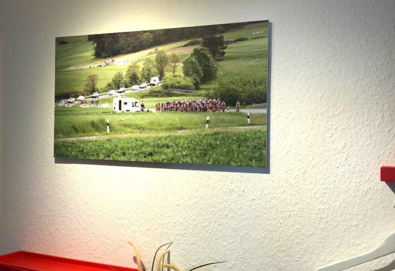 Wandbild von Saal-Digital. Foto: Stephan Dietel