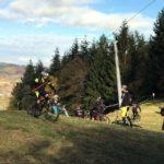 Saisonabschluss markierte Flowtrail-Winterpause