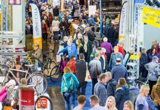 """Messe """"Fahrrad Essen"""". Foto: Alex Muchnik, Messe Essen"""