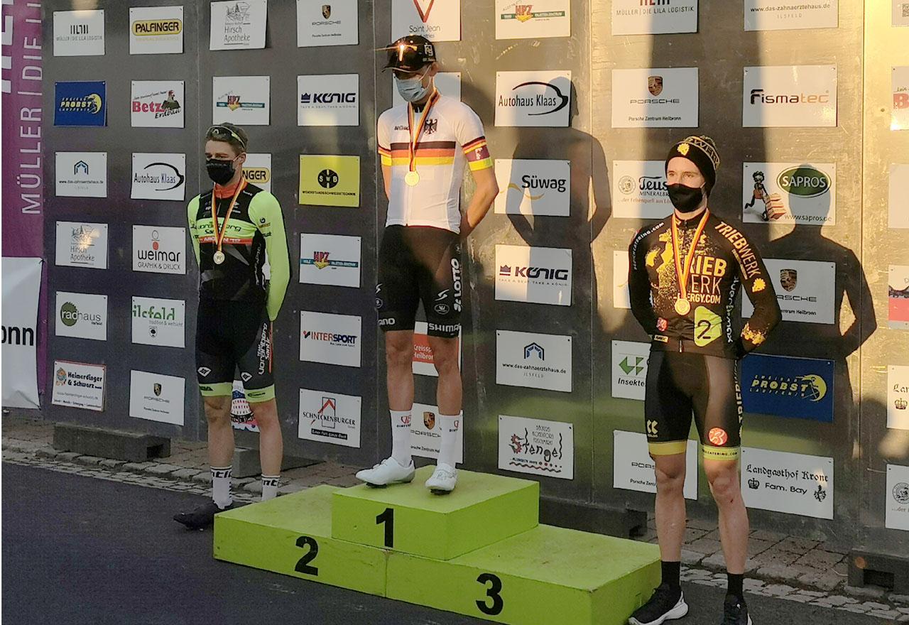 Bronze für Tobias Eise bei Berg-DM